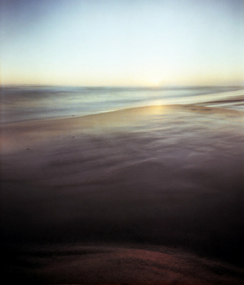 Pinhole: Apollo Lands, For I Am No Fan Of Roman Name Theft on Flickr.Via Flickr:Facebook | Blog Grayton Beach, Fla. f235, Kodk Portra 160, eight seconds, cropped from 6x9