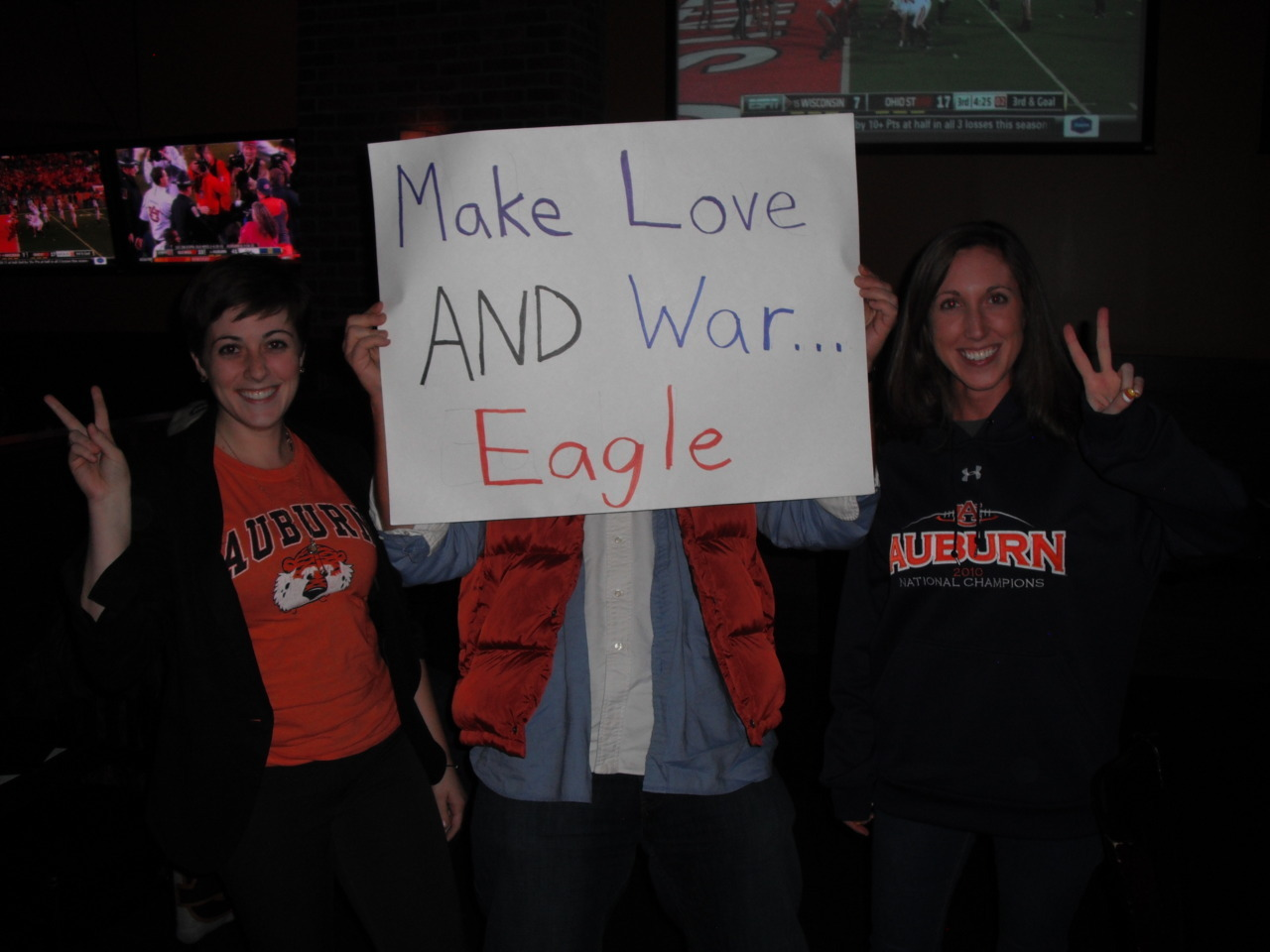 Make Love AND War … Eagle
