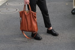 Bag by Want Les Essentiel De la Vie Shoes: Wingtips by Tricker's Pants: Acne