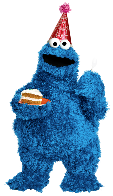 laughingsquid:  Happy Birthday, Cookie Monster!