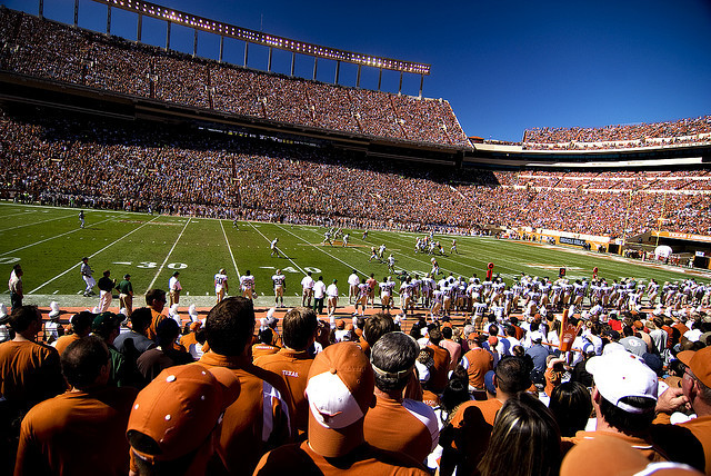 stadium-love-:  DKR by Steven Leggett Darrell K. Royal-Texas Memorial Stadium: Home to the University of Texas Longhorns