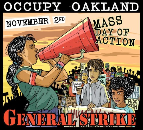 "fuckyeahmarxismleninism:  ""General Strike!"" by Cristy C. Road"
