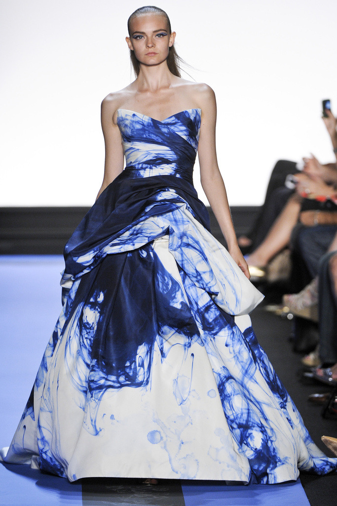 r3b3cc4s:  monique lhuillier ss 12This print is perfect