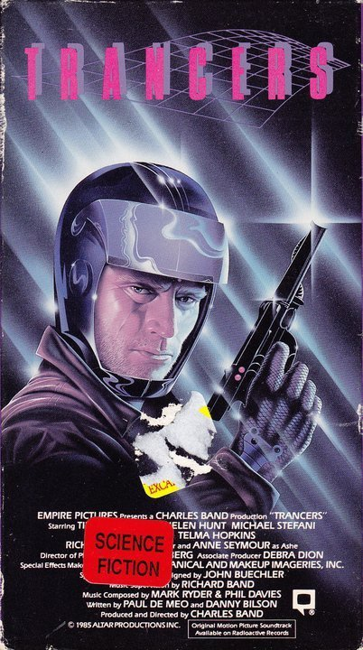 Meet Jack Deth. He's a Cop From The Future Trapped in the Present, and he's chasing a 23rd century menace in 1985 Trancers (1985)