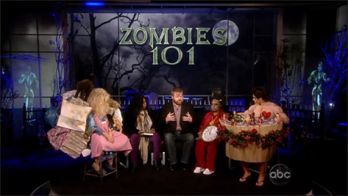 Robert Kirkman was recently on the view… check out the story here!!!