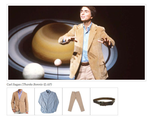 Dress like Sagan (via Kottke)