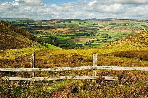(by darkartsphotography) Gortin Glen Valley in the Sperrins, Northern Ireland