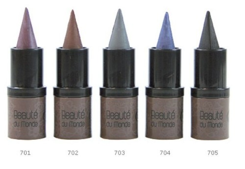 terredoc-usa:  Cream Organic Eye Kohl Sure, powder eye shadow is a great old standby—not unlike a cozy pair of socks you know does the trick—but wouldn't it be fun to have a more progressive choice—one that not only got the job done but stepped up the glamour quotient?   terre d'Oc's Organic eye Kohl is a rare find.  Finding cream color that lasts, much less one you can manipulate half as well as powder—can seem impossible.  Because of the eye kohl's, pure pointed color design (no wood or plastic), similar to an artist's tool, it's incredibly easy to shape around the eyes, (without a brush).  Plus, the rich natural earth pigments have a hint of sparkle, and are formulated with sweet almond and pistachio oils, making them smooth and skin conditioning.  Not only do they make executing the smoky-sexy-eye as simple as a wink—they're healthy too.