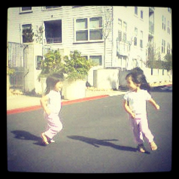 Sent from their Grandpa's phone (Taken with Instagram at Oceanview Terrace Condos Building 3)
