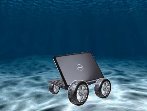 A Dell, Rolling in the Deep.