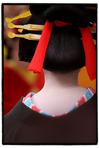 Oiran traditional parade (by hashiee)