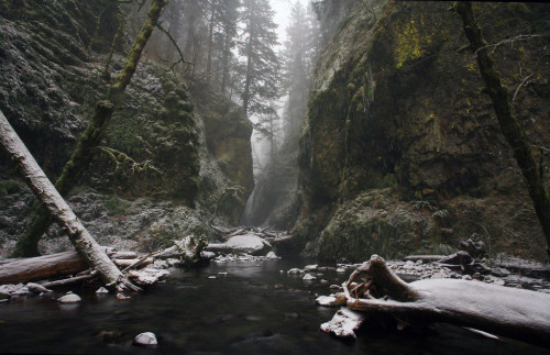 Oneonta, Oregon. (Source: reddit.com/r/earthporn, healthfood)