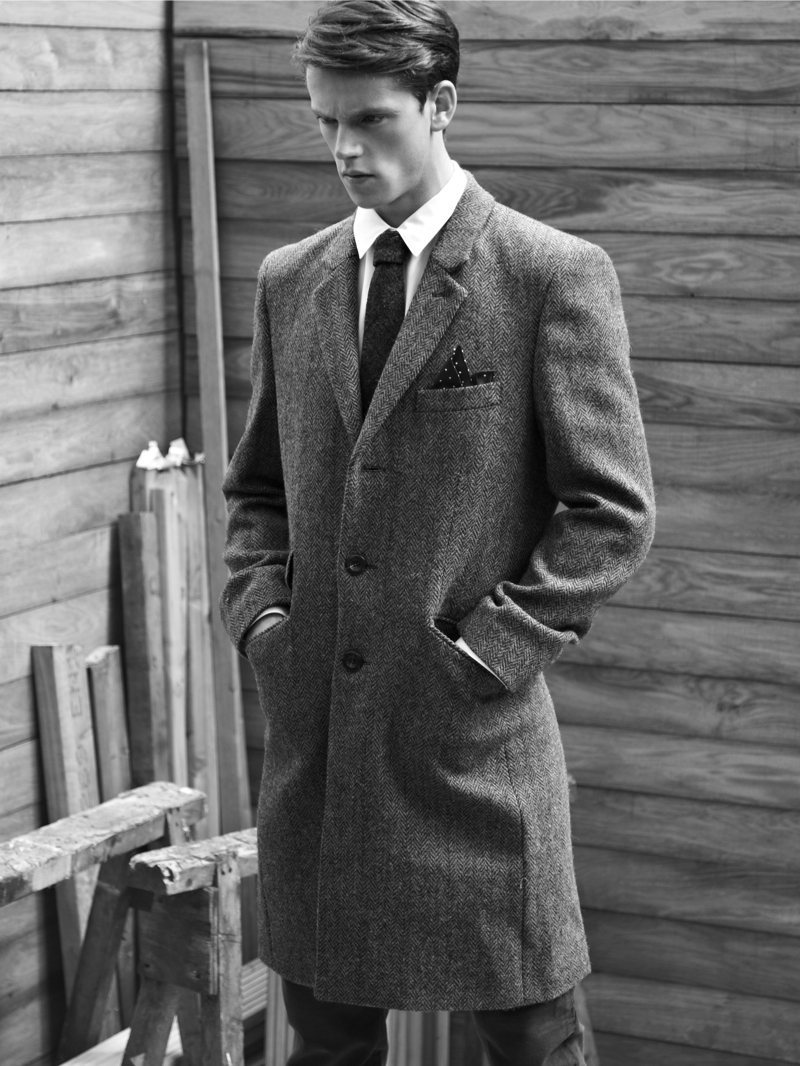 multimoulinette:  Jacob Barber by Duane Nasis for Topman Harris Tweed Hebrides