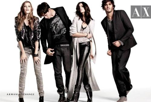 Armani Exchange Holiday 2011.