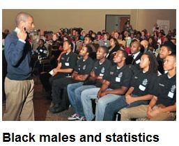 Black males and statistics  By: De'Marja Patrick  For St. Louis American