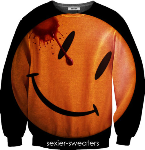 Watchmen Smiley Face Sweater