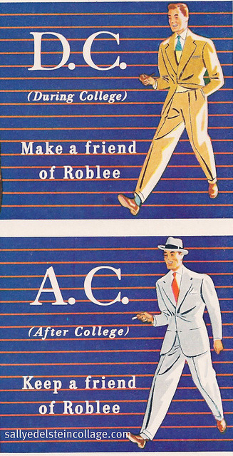 retroarama:  Mens fashion AC DC 1946 on Flickr.Roblee Shoes for men 1946 Shoes and Suits that go both ways