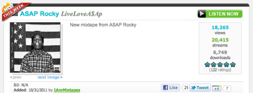 "Who is ASAP Rocky? I turn on the mixtape and right off the bat, on the first song ""Palace"" he says Don't remember me as a wannabe New Orleans nigga Slash lean sipping, Tennessee nigga, Nah Influenced by Houston, hear it in my music A trill nigga to the truest Show you how to do this I'm like, is this dude from Houston? Nope, Harlem world!"
