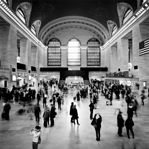 ekizsidio:  Grand Central Station by Adam Garelick on Flickr.