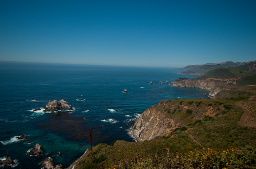 Route 1 - Big Sur Coast Highway, California. Crashing waves, rolling fog, sheer rocky cliffs, and pleasant bends and curves make a trip down Big Sur Coast Highway an unforgettable experience….