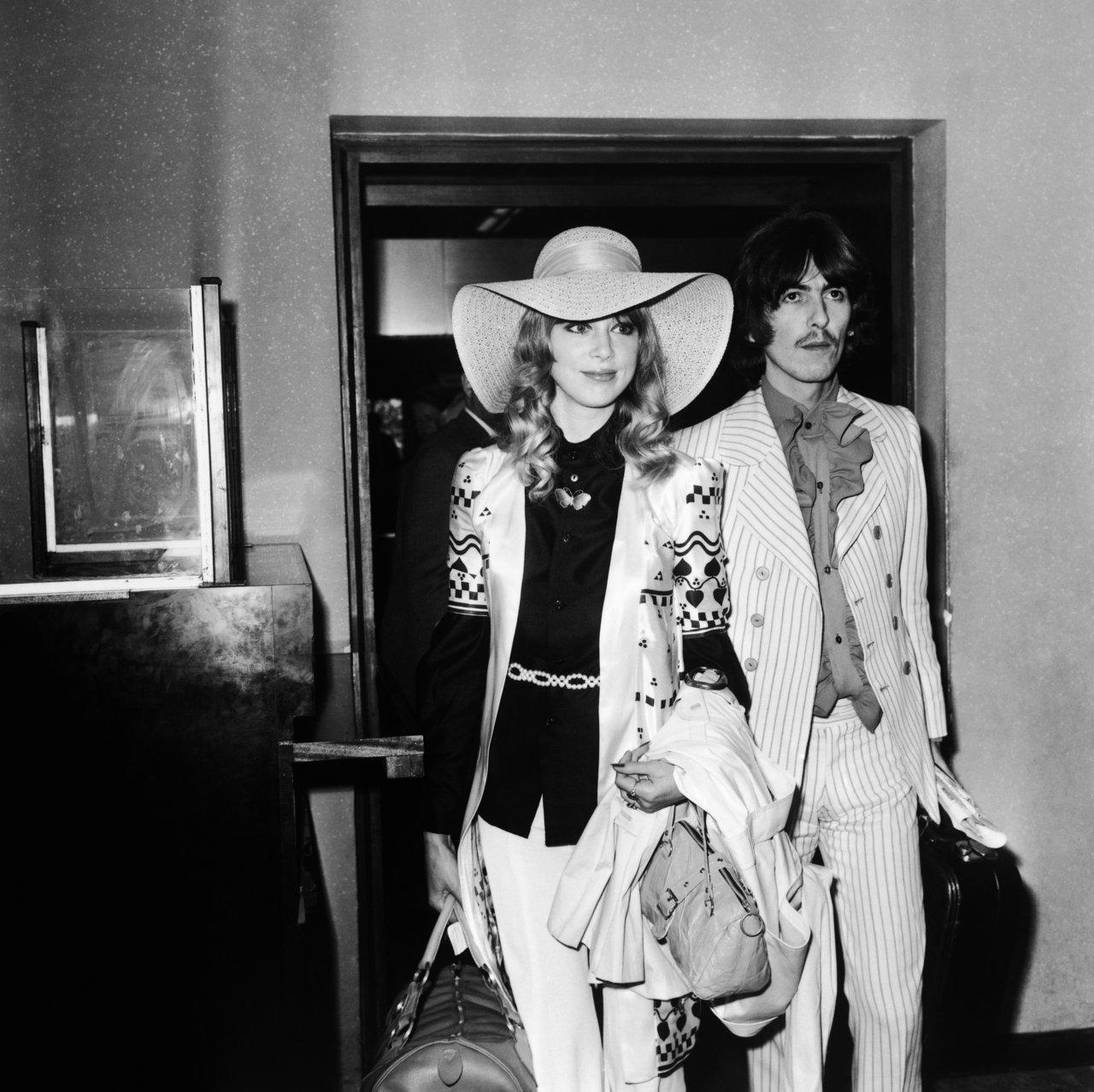 bohemea:  Pattie Boyd & George Harrison