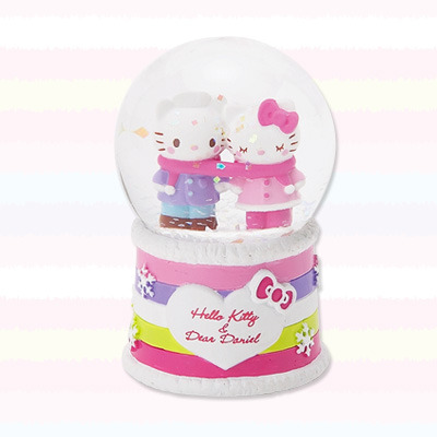 "Hello Kitty & Dear Daniel ""My Happy Winter"" Snow Globe"