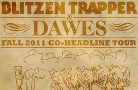 this saturday i will have the luxury of seeing dawes at turner hall right here in milwaukee! wanna come hear good vibes? buy your tickets here. not in milwaukee? check out the tour in your town and get a good show with even better music.