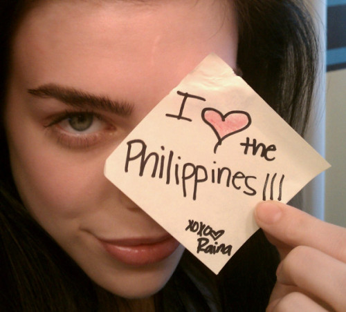 One of my favorite Top Model… Raina Hein! :)