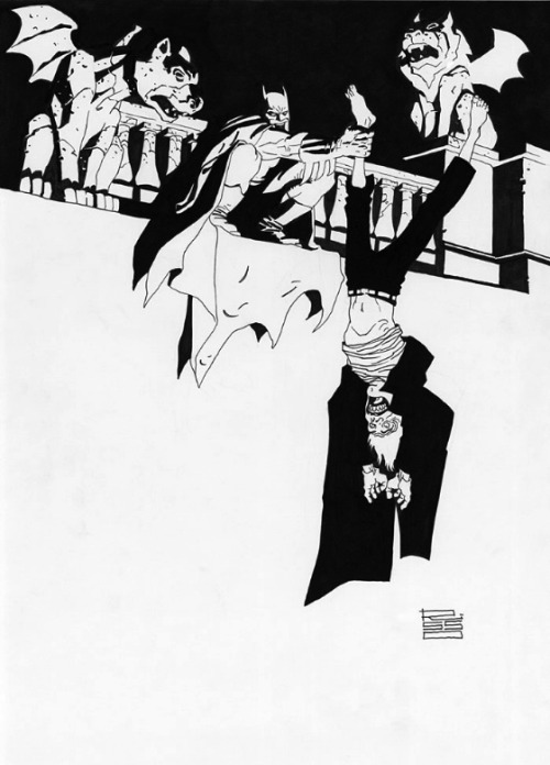 awyeahcomics:  Batman and the Joker by Eduardo Risso