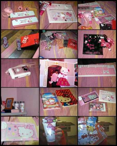 hellokitty-spam:  since it was Hello Kitty's birthday last nov. 1 . i just want to show you some of my stuffs and how much i love Hello Kitty :) Submitted by: mycescy-fabregas04