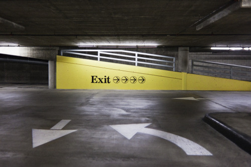 Exit (from an Underground Parking Lot)