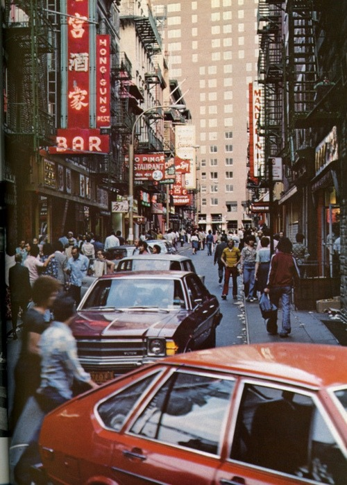 superseventies:  Chinatown, New York City, 1970s.