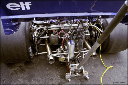 Tyrrell P34 1976 engine-transaxel by C.A.J. on Flickr.