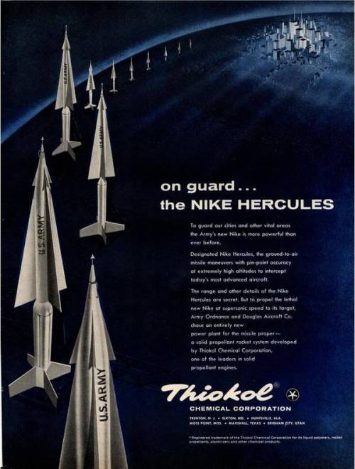 Advertising for missiles