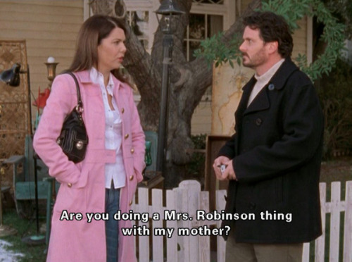 Are you doing a Mrs. Robinson thing with my mother?