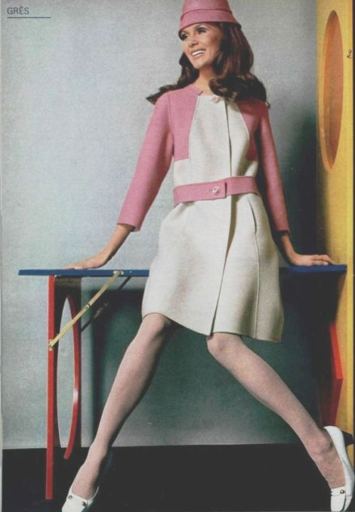 Gres Outfit - 1969 L'Officiel De La Mode - 565-566