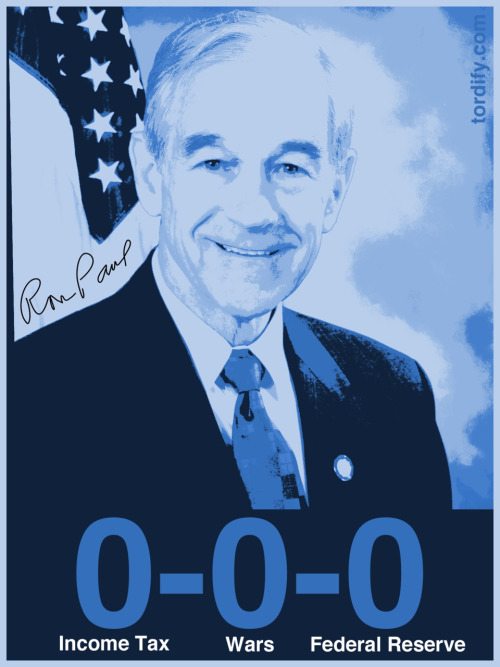 tordify:  Ron Paul's 0-0-0 Plan
