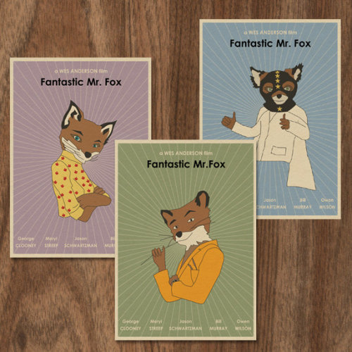 Fantastic Mr Fox by monstergallery