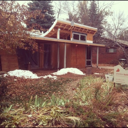 my favorite remodel. Love the lines #boulder  (Taken with instagram)
