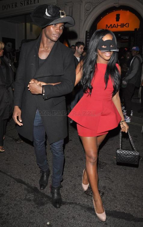 SPOTTED  Celebrity: Alexandra Burke Date Visited Mahiki: 31st October 2011 Insider Info: One might say Alexandra Burke is a busy bee at the moment! She spent Saturday and Sunday on X-Factor, then ventured out to celebate Halloween at London's favourite polynesian paradise on Monday night. She was spotted reunited with those famous treasure chests!!!