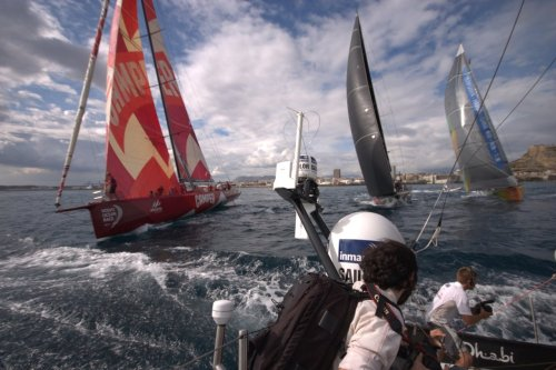paulbrady:  Grant Martin went to see the start of the Volvo Ocean Race from Alicante, Spain to Cape Town, South Africa.