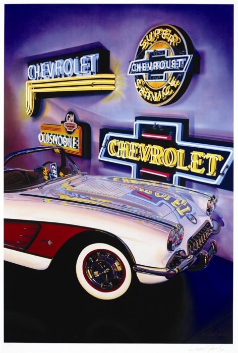 Chevrolet, Scott Jacobs, Park West Gallery