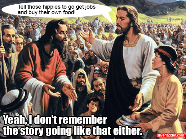 Jesus on the Occupy Wall Street movement. Or not.