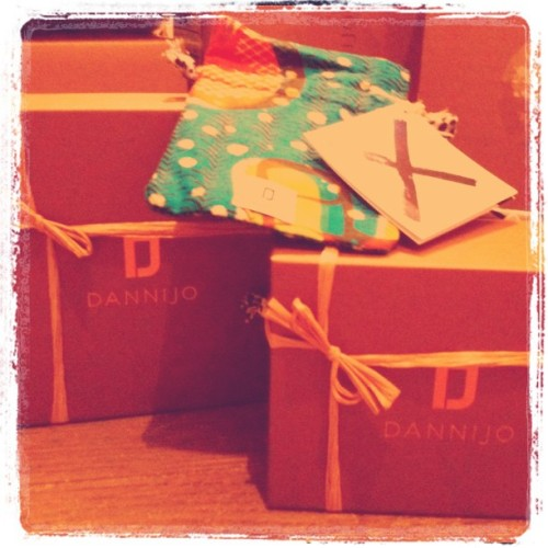 New #DANNIJO packaging… we're ready for the holiday season!