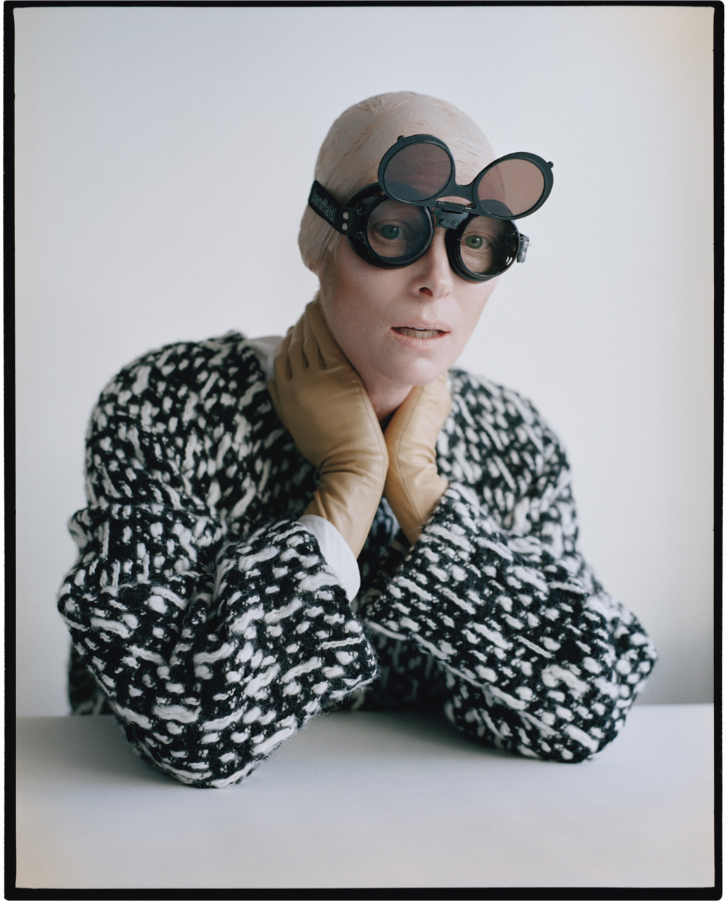 "Photo by Tim Walker Tilda Swinton is out of this world and that's just the way we like her.  Read about Tilda's ""dance with fashion"" (and acting)."