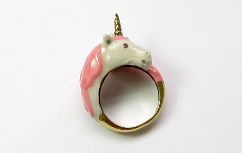 Unicorn ring.