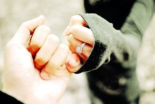 Pinky promise you'll love me forever?