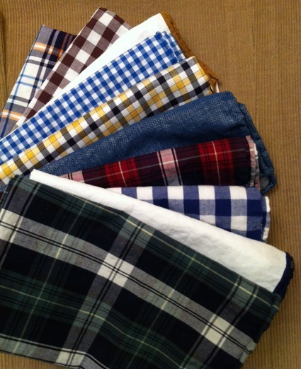 Stuff We Like At 8 bucks, these cotton pocket squares from The Tie Bar may be the best menswear deal going. Wash them. Dry them. And stay away from the iron for that slightly rumpled, effortless attitude. They'll look like you've had them for years.