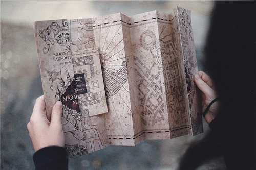 If all maps could look like this… if we could all live in Rowling's world… #travel #ttot I would love to live in a wizarding world! Do you know how much it would make traveling easier? Floo powder would be every traveler's best friend. If we lived in a wizarding world, how would travel be easier? Reblog with your input.