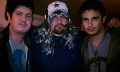 My boy Cody and I hanging with Rob Ryan on Halloween Night. Classic!